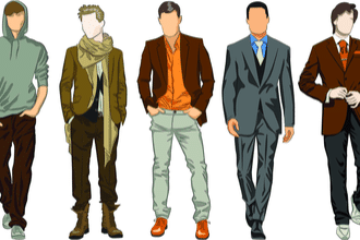 Attractive Clothes Fit the Body
